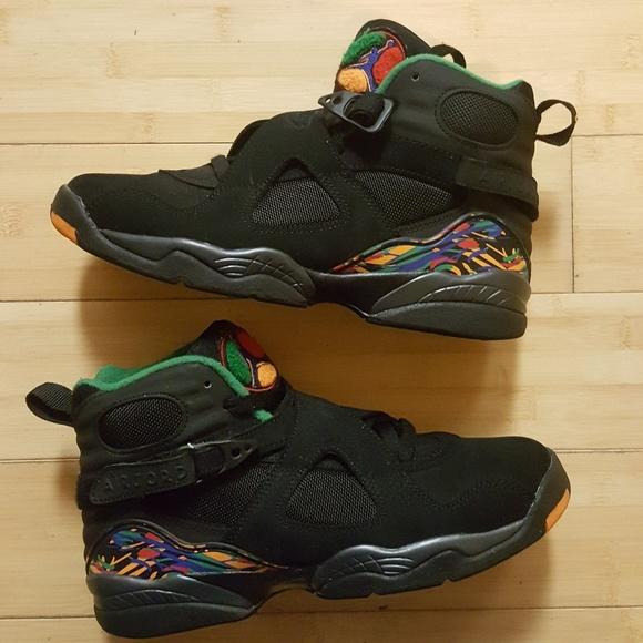 outlet store ddd1a d794b Nike Air Jordan 8 Retro (GS) Air Raid